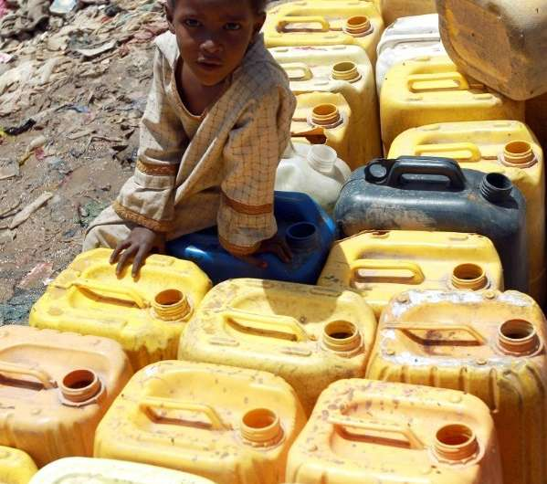 In the mountains of Yemen, the growing of qat, a thirsty plant sold as a mild stimulant, led to severe water shortages. The wate