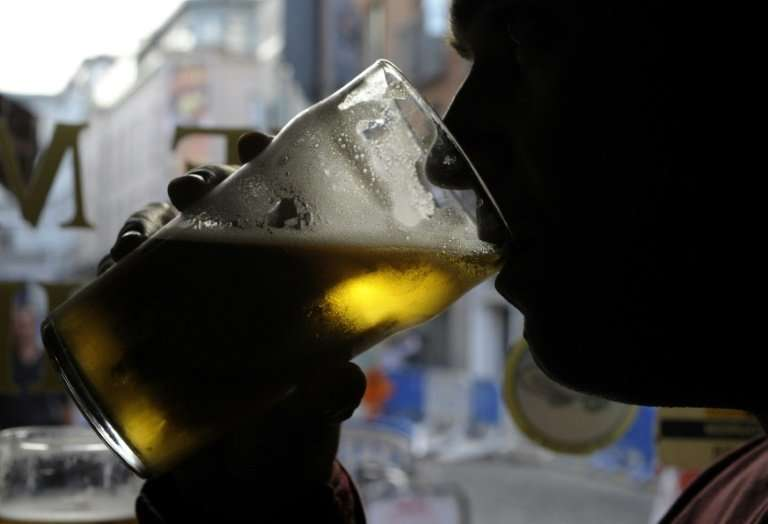 Ireland ranks joint third for binge-drinking out of 194 countries, according to research by the World Health Organisation