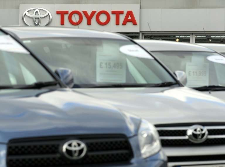 Japanese car giant Toyota is warning that a no-deal Brexit will temporarily halt production at its plant in Derby, central Engla
