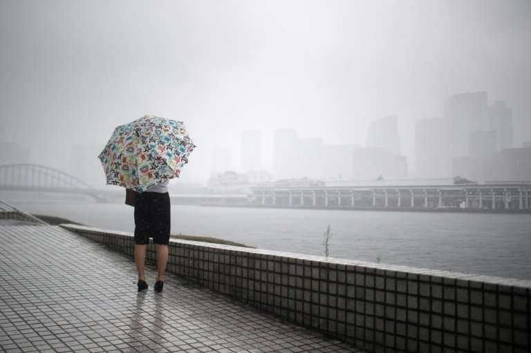 Japan is bracing for the imminent arrival of Typhoon Jongdari