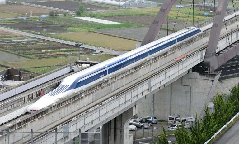 Japan is investing trillions of yen in maglev—magnetic levitation—trains, which are scheduled to begin commercial service betwee