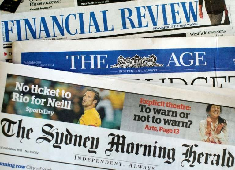 Judith Neilson's announcement comes after Fairfax Media, Australia's oldest newspaper group and owner of titles including The Sy