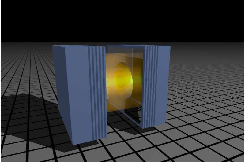 Just seven photons can act like billions