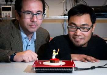 Lift-off for world-first ultrasound levitation that bends around barriers