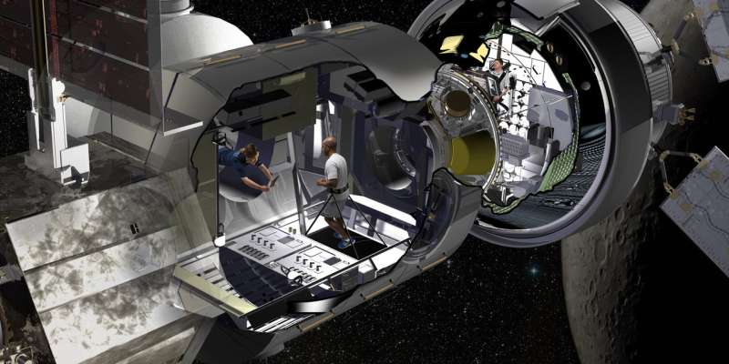 Lockheed Martin gives first look into where astronauts may live on missions to deep space