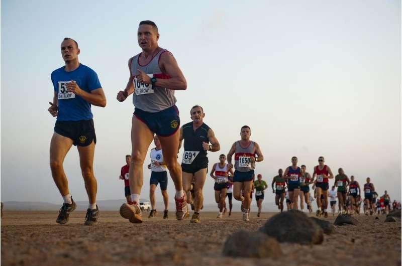 long-distance runners