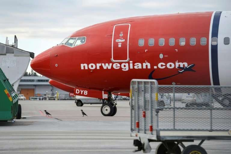 Low-cost carrier Norwegian flew into the red last year