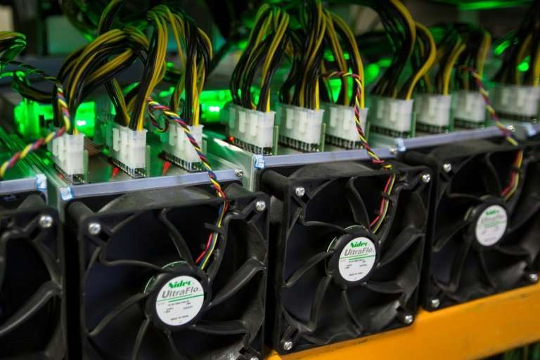Machines to mine Bitcoins cost between 35,000 and 50,000 roubles ($535-$765, 470-670 euros) in Moscow