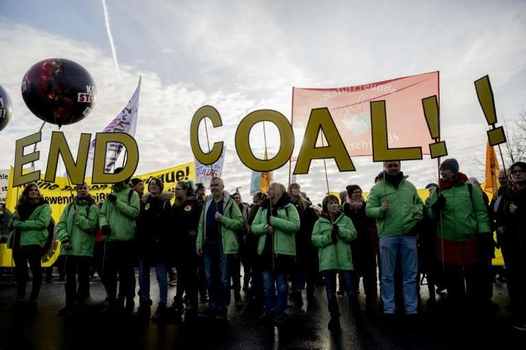 Many Germans have been pushing for an end to coal, which accounts for nearly 40 percent of the country's energy production