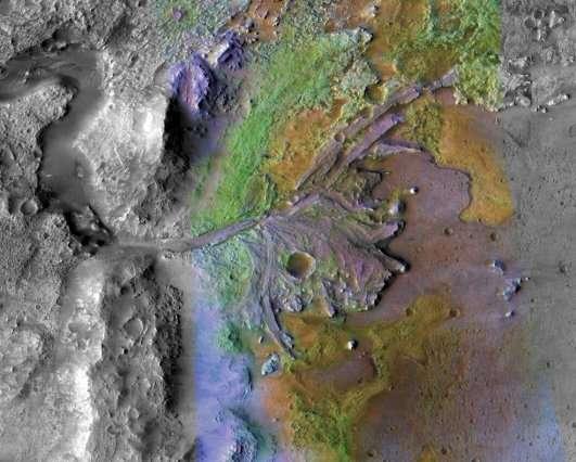Mars 2020 landing site offers unique opportunities