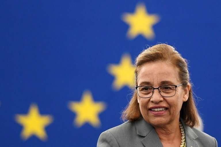 """Marshall Islands President Hilda Heine said the deal gives her """"country a pathway to survival"""" even if it """" may n"""