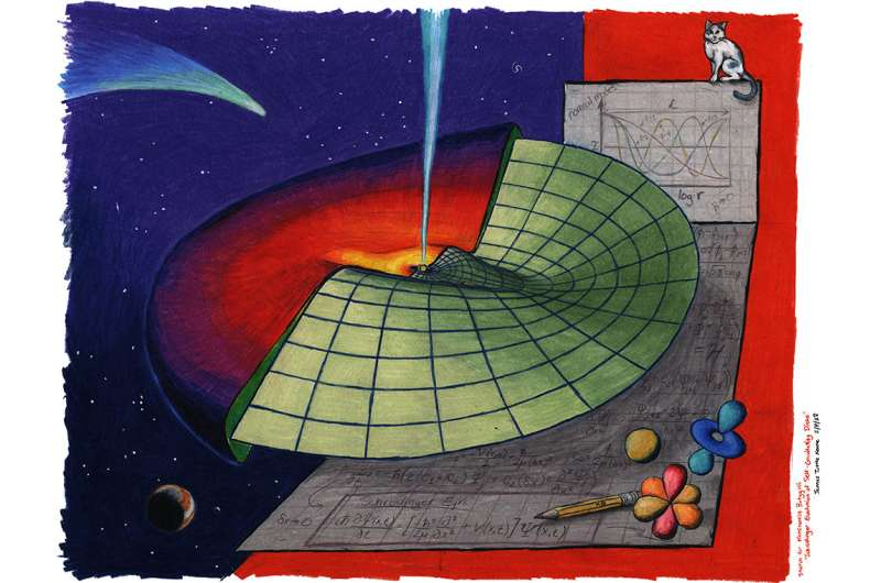 Massive astrophysical objects governed by subatomic equation
