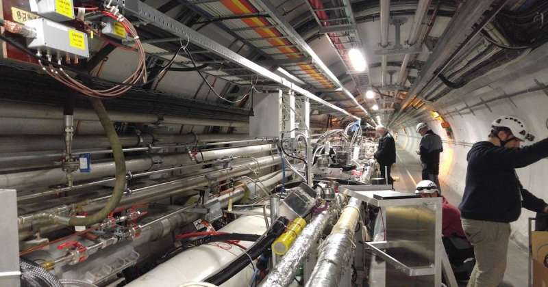 Meet the 'odderon': Large Hadron Collider experiment shows potential evidence of quasiparticle sought for decades