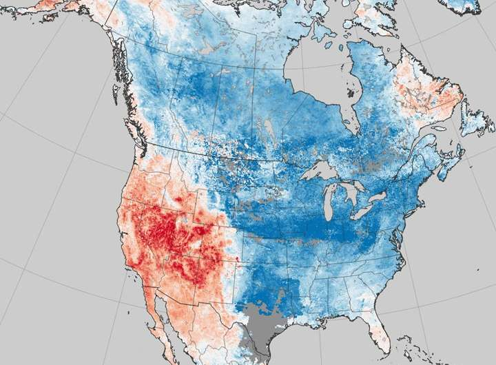 More persistent weather patterns in US linked to Arctic warming