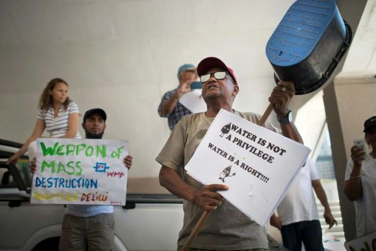 Most Cape Town residents will be forced to queue at communal taps at 200 water points to collect a daily ration of 25 litres