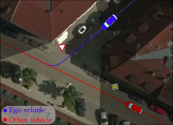 **Motion planning for automated driving under uncertainty and with limited visibility