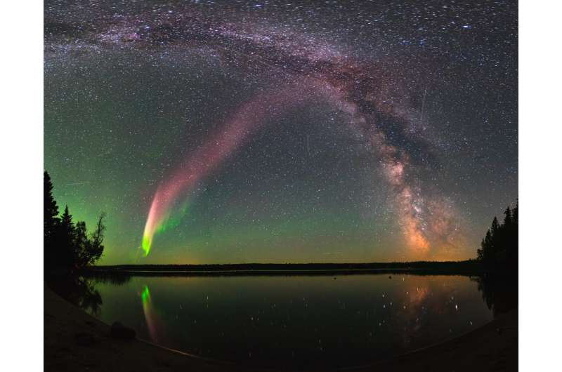 Mystery of purple lights in sky solved with help from citizen scientists