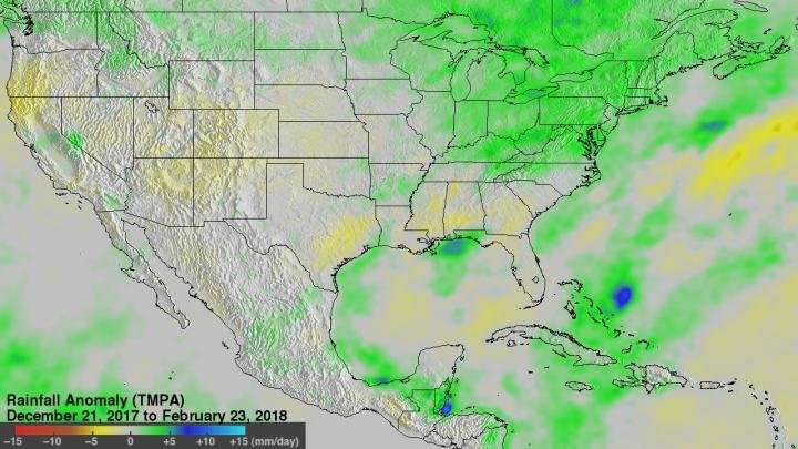 NASA looks at Midwest rain and melting snow that contributed to flooding