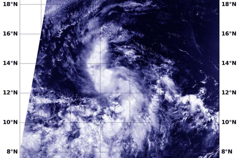 NASA sees the development of Tropical Storm Gilma