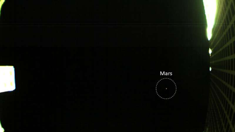 **NASA's First Image of Mars from a CubeSat
