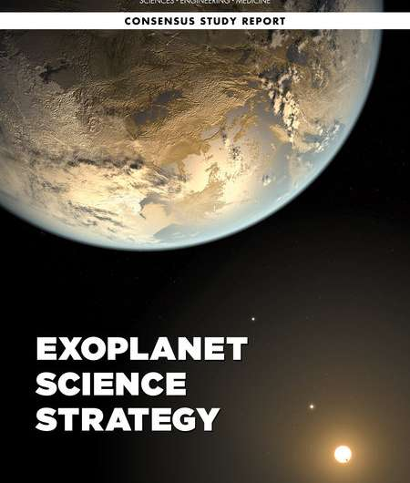 NASA should lead a large direct imaging mission to study earth-like exoplanets, says new report