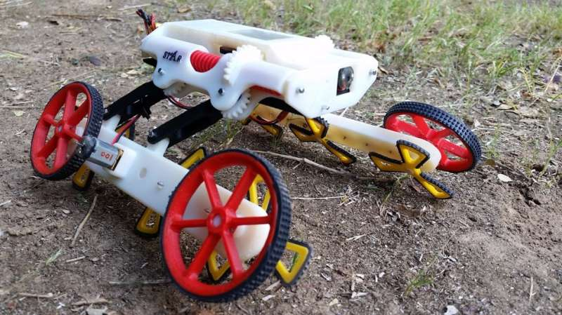 New creepy, crawly search and rescue robot developed at Ben-Gurion U