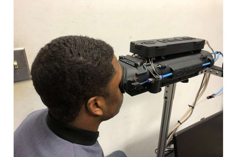 New device measures blink reflex parameters to quickly and objectively identify concussion