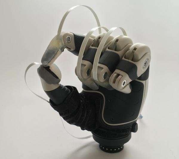 New fingertip sensors to help veterans feel through their prosthetics