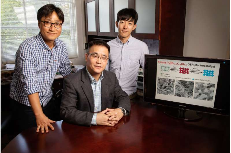 New, highly stable catalyst may help turn water into fuel