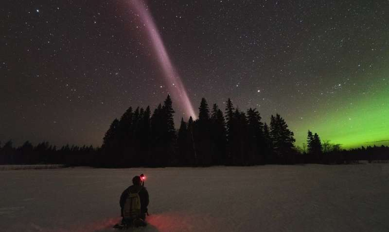 New kind of aurora is not an aurora at all