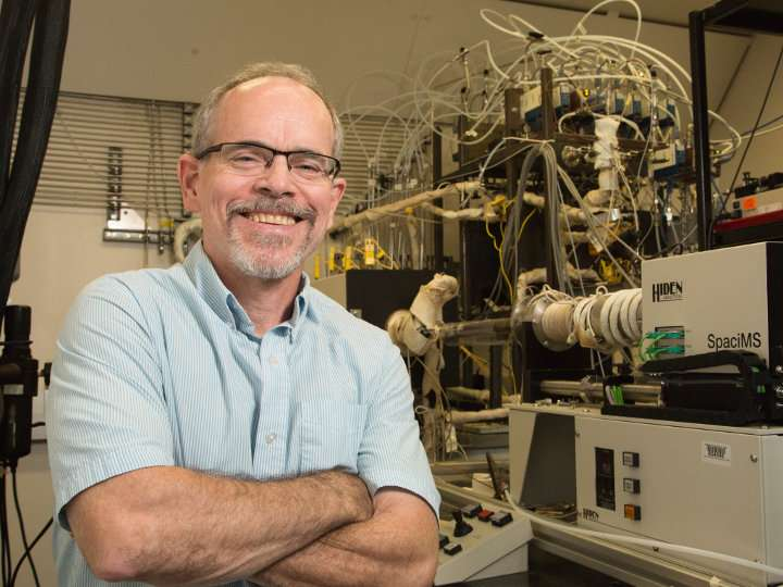 New natural gas catalyst would boost clean transportation