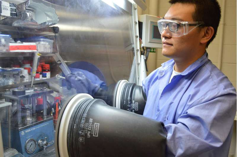 New sodium-ion electrolyte may find use in solid-state batteries
