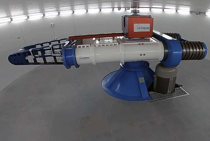 New space instrument goes for a spin