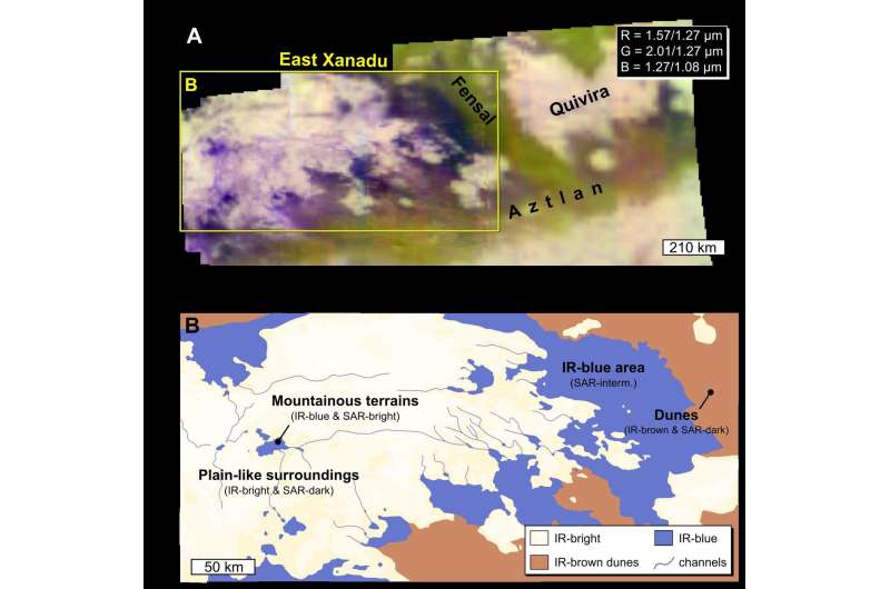 New study details geological process behind Titan's dunes