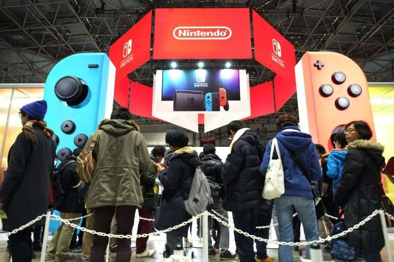 Nintendo Switch flew off the shelves in the holiday season