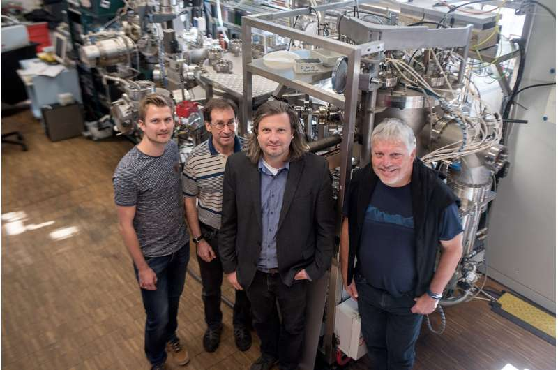 Noble metal-free catalyst system as active as platinum