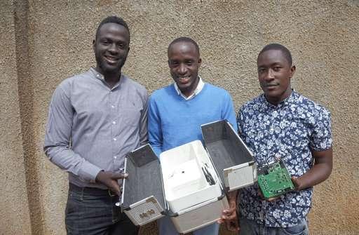 Non-invasive malaria test wins Africa engineering prize