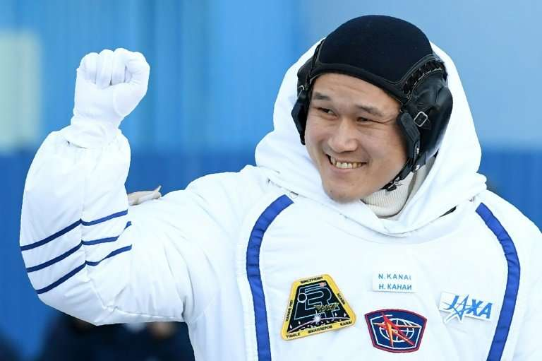 """Norishige """"Neemo"""" Kanai of Japan is making his first spacewalk from the International Space Station"""