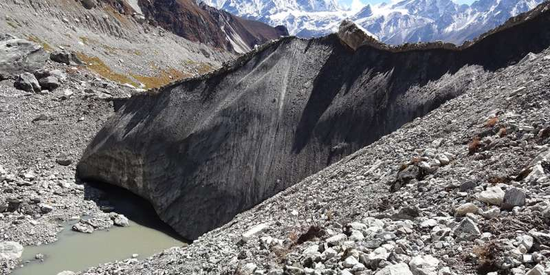 North-exposed ice cliffs accelerate glacier melt