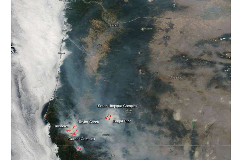 Oregon has its share of fire storms
