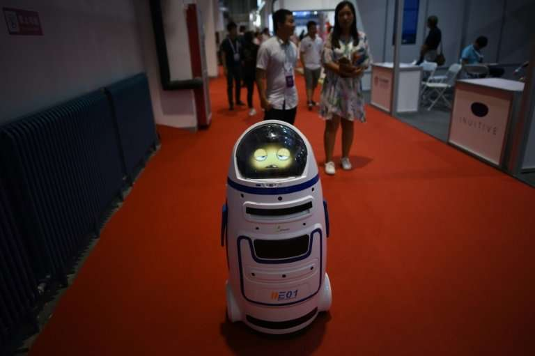 Outside China's factories, robots are becoming a more visible presence, deployed in restaurants and banks and even delivering pa