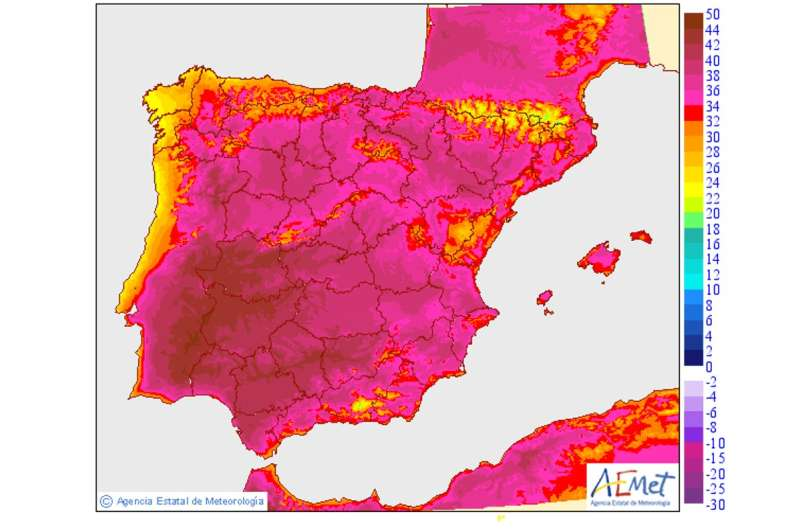 Parts of Spain and Portugal are more than 46℃ – here's what is going on