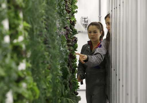 People, power costs keep indoor farming down to Earth