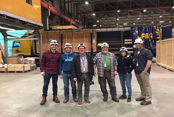 Physicists celebrate as vital component of global neutrino experiment arrives at CERN