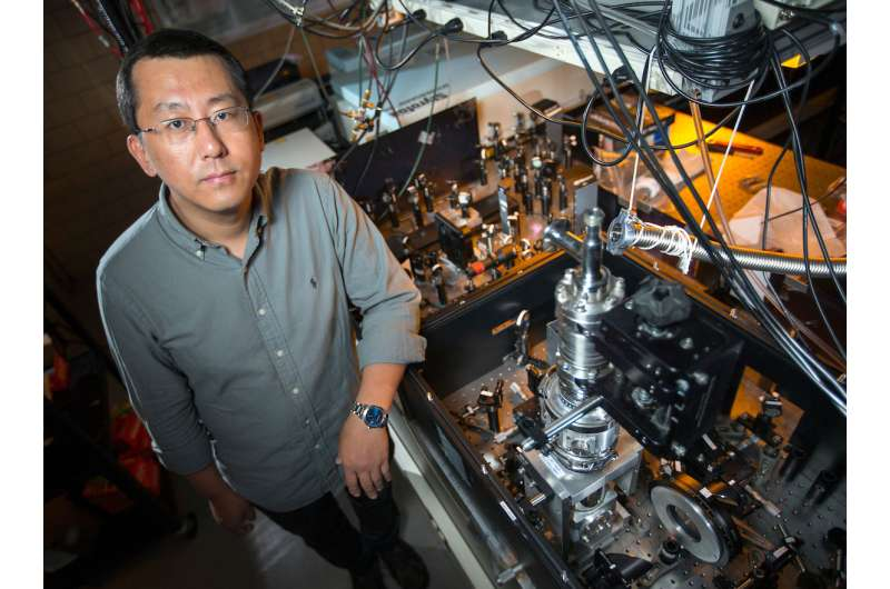 Physicists use terahertz flashes to uncover state of matter hidden by superconductivity