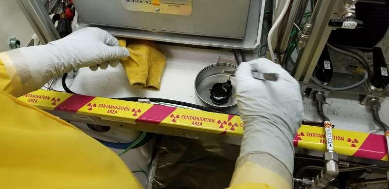 PNNL successfully vitrifies three gallons of radioactive tank waste