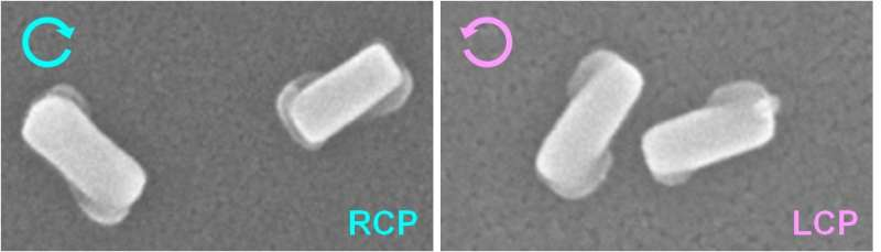 Polarized light: A simple route to highly chiral materials