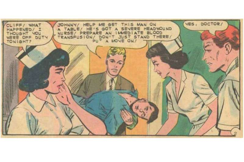 Portrayals of doctors in comics have become more realistic, nuanced