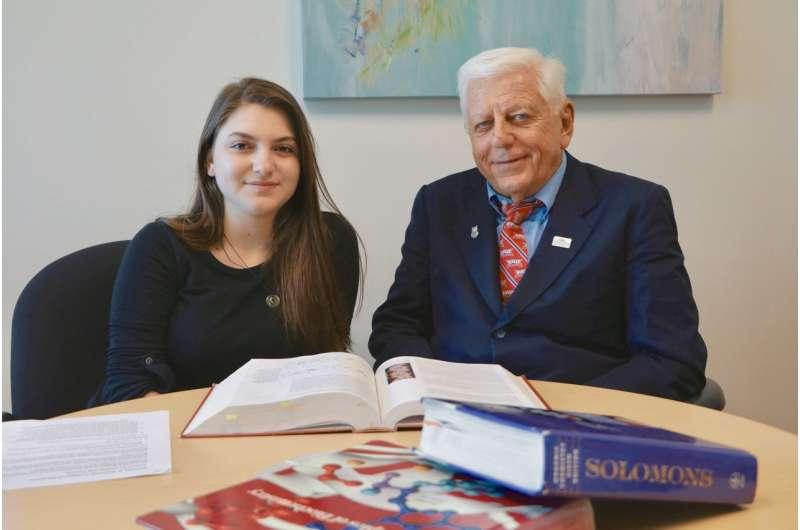 Professor, MSD high school senior collaborate on homicide trends