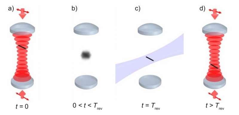 Proposed test of quantum superposition measures 'quantum revivals'